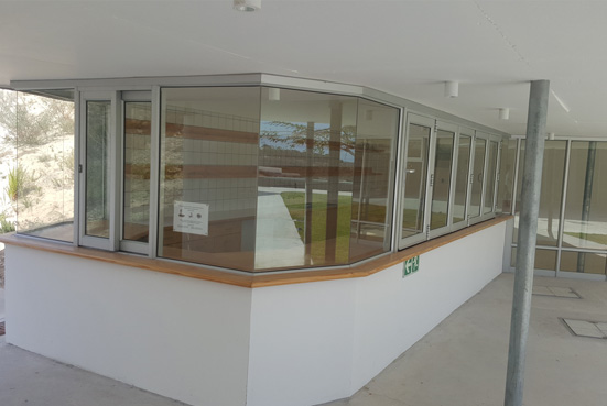 Aliminium Doors & Windows - Commercial